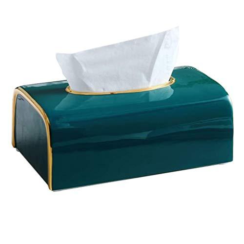 N/A YHSMZ -Kasten-Serviette-Halter for Heim, Wegwerfpapiergesichtstücher for Lagerung auf Waschtisch im Bad, Aufsatz-, Schlafzimmer Dresser, Schreibtisch
