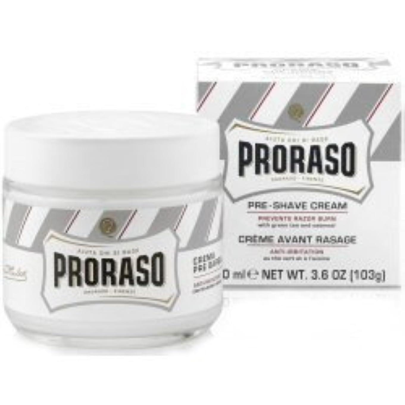 職人内なる気分Proraso Pre & Post Shave Cream Sensitive Skin 100ml by Proraso [並行輸入品]