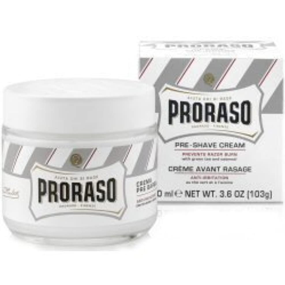 騒ぎ薄汚いキャンペーンProraso Pre & Post Shave Cream Sensitive Skin 100ml by Proraso [並行輸入品]