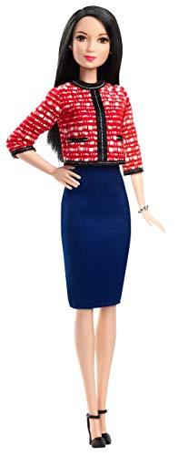 Barbie GFX28 - Berufe 60 Jahre Jubiläums Präsidentschaftskandidatin Puppe, Spielzeug ab 3 Jahren