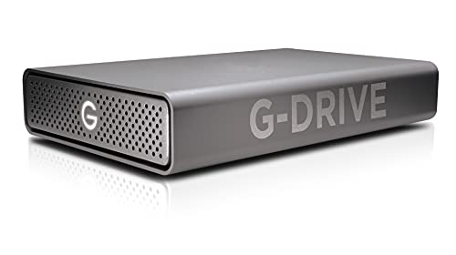 SanDisk Professional 18TB G-DRIVE Enterprise-Class Desktop Hard Drive HDD, Ultrastar Drive Inside, Up to 195MB/s, USB-C (5Gbps), USB 3.2 Gen 1 – SDPH91G-018T-NBAAD