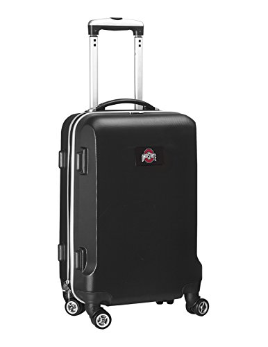 %52 OFF! Denco NCAA Ohio State Buckeyes Carry-On Hardcase Luggage Spinner, Black