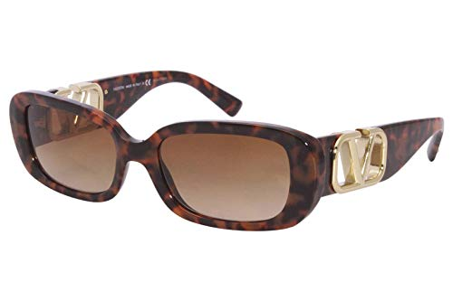 Valentino Gafas de sol VA4067 515013 Gafas de sol Mujer color Marrón Habana tamaño de lente 53 mm