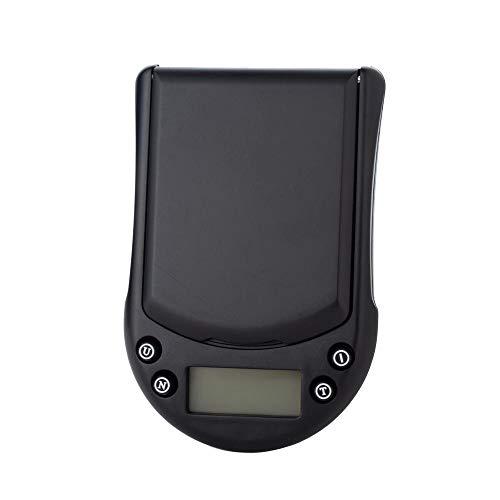 Báscula Digital para Cocina de con Pantalla LCD Balanza de Alimentos, con función de tara,alta precisión escala digital -500G / 0,1G