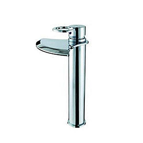 ZXY-NAN Faucet Faucet Sanitary Ware Single Handle Stainless Steel and Cold Water Faucet Daily Use, Durable (Color : Silver) Faucet Water Filters