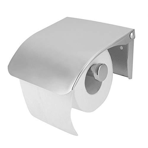 Sugoyi Platzsparender Toilettenpapierhalter, Seidenpapierhalter, Papierkastenhalter aus Edelstahl Langlebig für gewerbliche Zwecke
