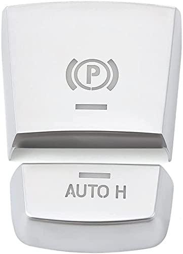 Auto-broy Etiqueta engomada electrónica del botón del interruptor de freno de estacionamiento para BMW F10 F07 F01 X 3 F25 X 4 F26 F11 F06 X 5 F15 X 6 F16 Accesorios