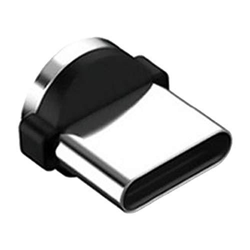 P Prettyia Cable USB Magnético, Cable de Sincronización de Datos Y Carga Rápida, Compatible con I-Product Micro USB Y Teléfonos Inteligentes Tipo C (3 Pie - Tipo G