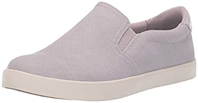 Dr. Scholl's Shoes Women's Mist Snake Print Sneaker, Lilac, 7