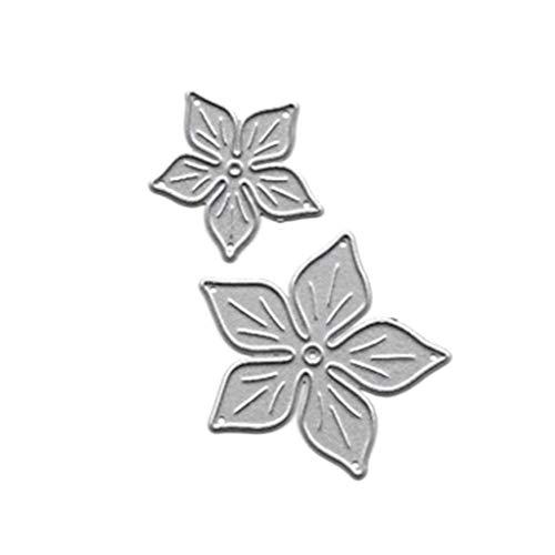 Koehope Stansvormen voor het maken van kaarten, bloemen en metaal, voor scrapbooking, fotoalbums, stempels, papier, kaarten, reliëf, handwerk