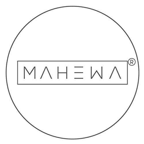MAHEWA Cojín rectangular de fieltro de 35 x 35 cm, juego de 4 cojines lavables para sillas retro, color gris claro y antracita con emblema negro