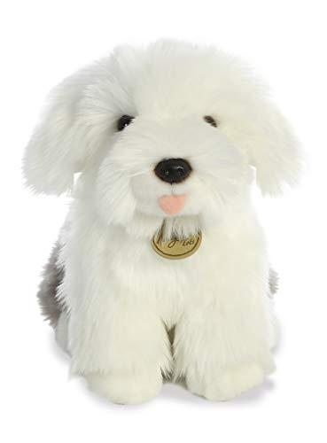 Aurora - Miyoni - 11' English Sheepdog Pup, White