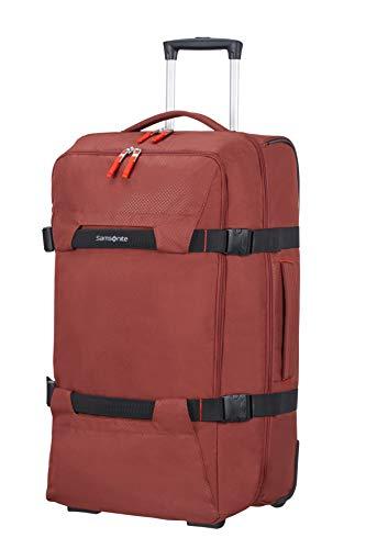 Samsonite Sonora - Borsone con Ruote M, 68 cm, 72.5 L, Rosso (Barn Red)