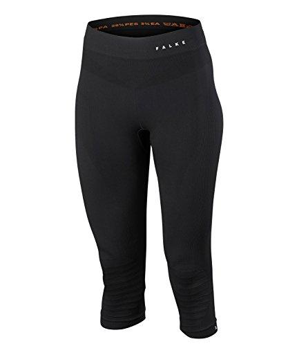 FALKE Maximum Warm 3/4 W TI Couche de base inférieure Femme, Noir (Black 3000), XL