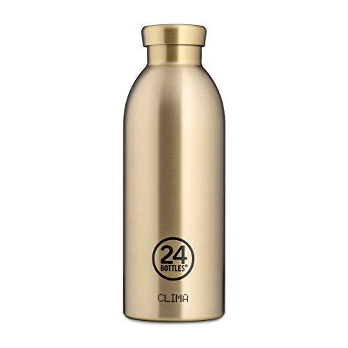Geïsoleerde drinkfles 'Clima Bottle Grand Collection' van roestvrij staal 500 ML, kleur: Prosecco Gold