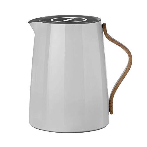 Stelton Emma Isolierkanne aus Kunststoff für Tee, grau, 1l, danish design