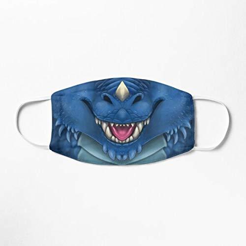 Blue Dragon Face Mask
