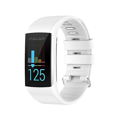 für Polar A360 / A370 Smart Watch Fitness Tracker Ersatz Uhrenarmband aus weichem Silikonkautschuk Armband für Polar A360 Smart Watch (nur Band, kein Tracker)
