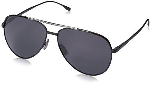 Hugo Boss Herren BOSS 0782/S 3H 003 60 Sonnenbrille, Schwarz (Matt Black/Grey Pz)