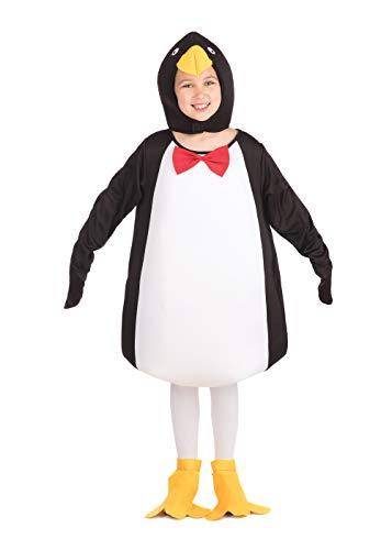 Bristol Novelty CC653 Costume de Pingouin Comique, Taille, Multicolore, Petit