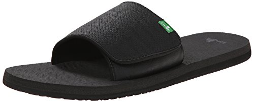 Sanuk Beer Cozy Light Slide Men Größe UK 8 Blackout