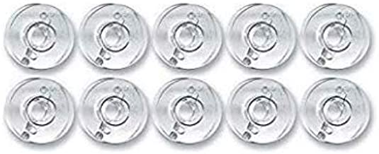 Zenith Plastic Bobbins Set of 12 Pieces Compatible with Any Automatic Sewing Machines Like Singer Usha Brother