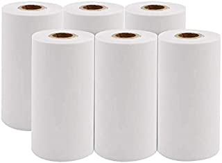 $42 » Tuneway Printable Paper White Direct Thermal Paper 57 x 30mm 10 Years Storage Paper for PAPERANG/PeriPage Mobile Printer, ...
