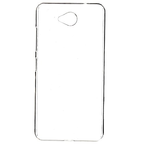 Gioiabazar Crystal Clear Transparent Hard Back Case Cover for Microsoft Lumia 650