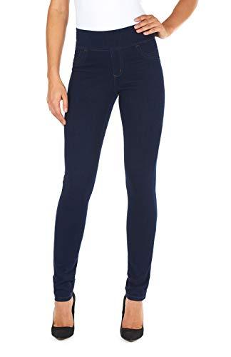 FDJ French Dressing Jeans, Love Denim Pull on Slim Jegging, Indigo, 18