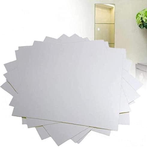 Froiny Tratamientos Espejo Pegatinas de Pared Decorativo de DIY Espejos Auto-Adhesivo de la decoración del hogar del Animal doméstico Espejo Decoración Etiqueta de la Pared para Cuarto de baño