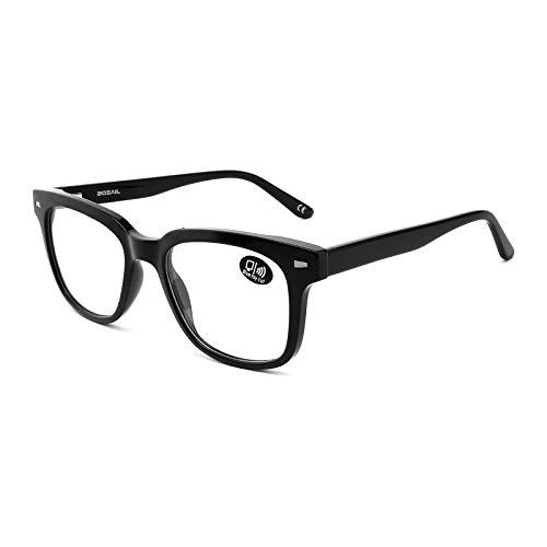 Blaulichtfilter Brille für Damen Herren,Brille mit Blaufilter als Bildschirmbrille,Material Tritan Computerbrille mit Brillenetuis,ohne Sehstärke