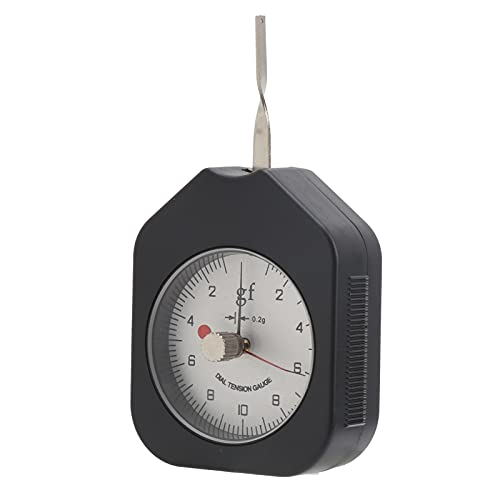 CHICIRIS Medidor de tensión, probador de tensión de Esfera de Escala de tracción de gatillo para Interruptor electrónico para presión de Punta de relé para microinterruptor
