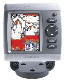 Garmin Fishfinder 300C 3.5-Inch Waterproof Fishfinder and Dual-Beam Transducer