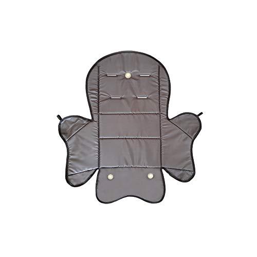 Aveanit RÖMER JOCKEY Relax Sitzpolster № 5 Bezug Ersatzbezug Sitzkissen für Fahrradsitz, Kompatibel mit RÖMER JOCKEY (Graphit Wasserdichtes)