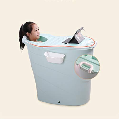 CHANG XU DONG SHOP Multifunctioneel bad met Cover, plastic bad vat, kinderbad Zwembad, Grote jongen zwemmen, kan dikker zitten