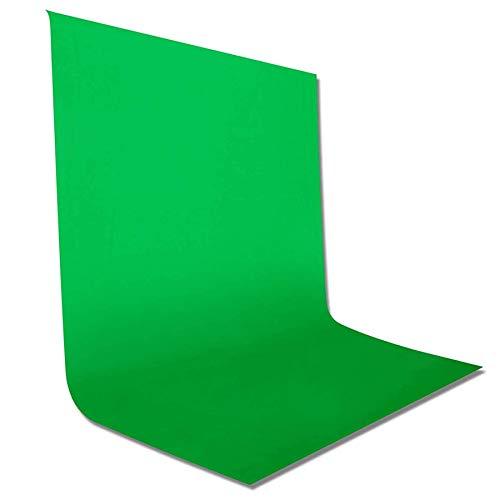 JOOLEE Fotostudio Hintergrund für Fotografie,Faltbare Screen,1.5 x 2m Foto Hintergrund Faltbare Screen Stoff,Modefotografie Screen,Videoaufnahme Screen,Greenscreen,Video Tuch Background