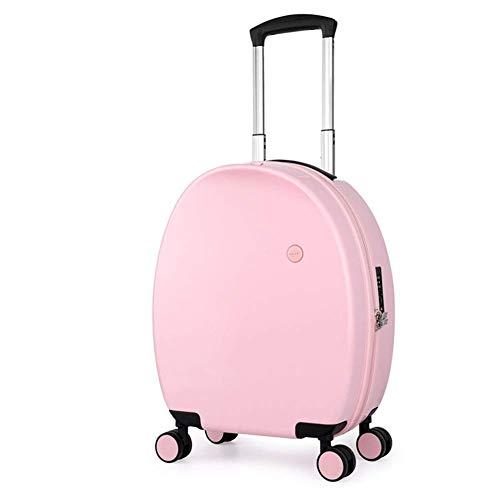 SH-lgx Equipaje de Mano, Cajas de Vara, Ultra-Light ABS Travel Case Maleta con TSA Lock y 4 Ruedas Universal for embarque (Color : C)