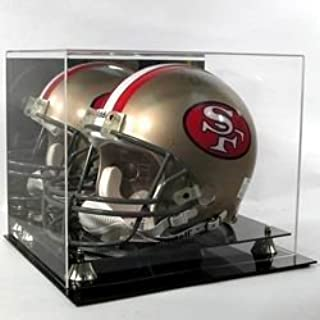Cardboard Gold Deluxe Acrylic Football Helmet Display Case