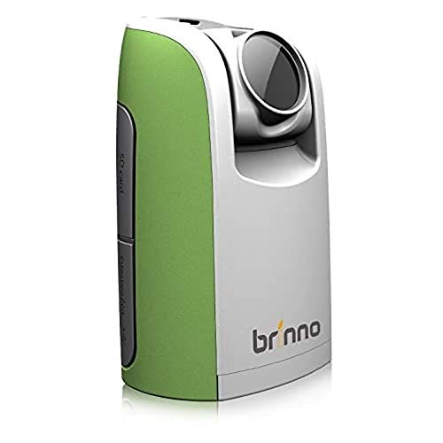 BRINNO TLC200 TIME LAPSE VIDEO CAMERA, Perfect for Work From Home, Self-Isolation, Home School, Quarantine, Stunning Time Lapse Video, Compact Portable Design - Green