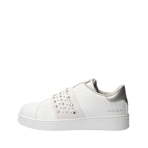 Miss sixty S19-SMS551 Zapatos Niño Blanco 36