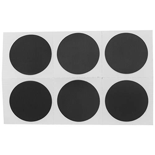 Alvinlite Kit de reparación de Parches para neumáticos de Bicicleta - Parches autoadhesivos de 6 Piezas Parches de Goma para Perforaciones en el Tubo Interior de la Bicicleta