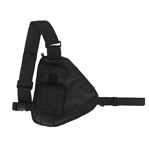 Adjustable Waist Pack Men Women Chest Rig Bag Hip Hop Streetwear Chest Pouch Crossbody Shoulder Bag