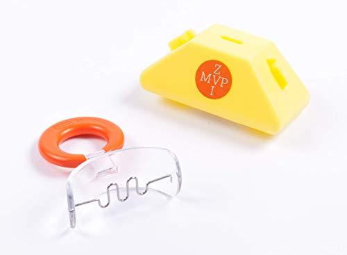 Mundvorhofplatte mit Zungengitter, klein, transparent/starr