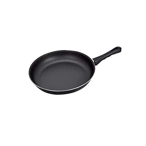 CJTMY Freír de Humo Pan Antiadherente Cubierta de Respaldo Wok hogar Wok No Aceite Pot palillo de Iron Pot Pot no (Size : 30CM)