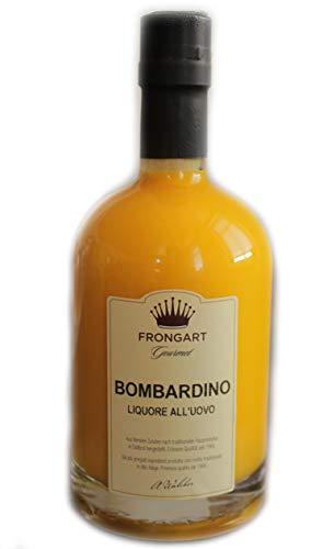 Bombardino Liquore all' UOVO Rum Likör 17% 50 cl. - Brennerei Walcher - Südtiroler Spezialität - feiner karibischer Rum mit frischem Eigelb - cremiger Eierlikör Genuss