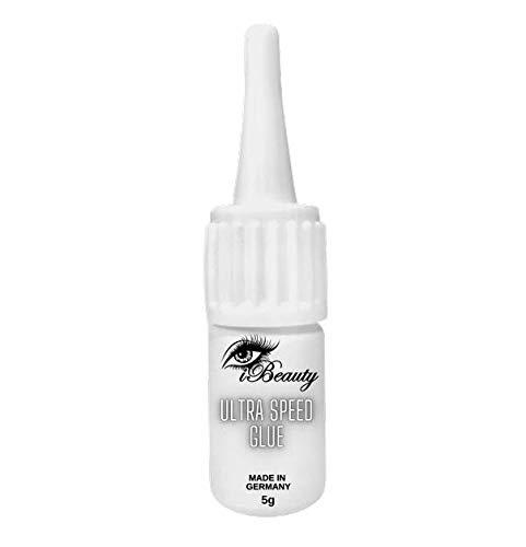 Profi Wimpernkleber Ultra Speed Glue - 5ml Made in Germany Wimpernverlängerung Lash Glue Volumenwimpern Trockenzeit 0,5 Sek
