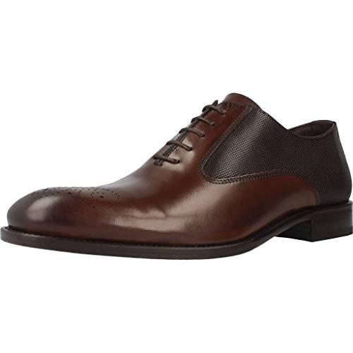 Sergio Serrano Zapatos Cordones 4417 Hombre Marrón