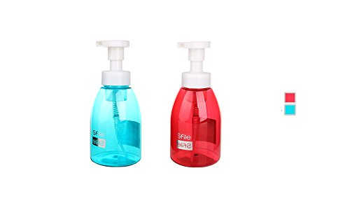Distributeur de savon liquide moussant pour salle de bain ou cuisine – sans BPA rechargeables Pompe Bouteille de savon 396,9 gram/400 ml par Sunsang