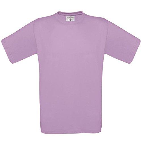 B & C Collection–Maglietta 190 cotone BA190 Pacific Pink