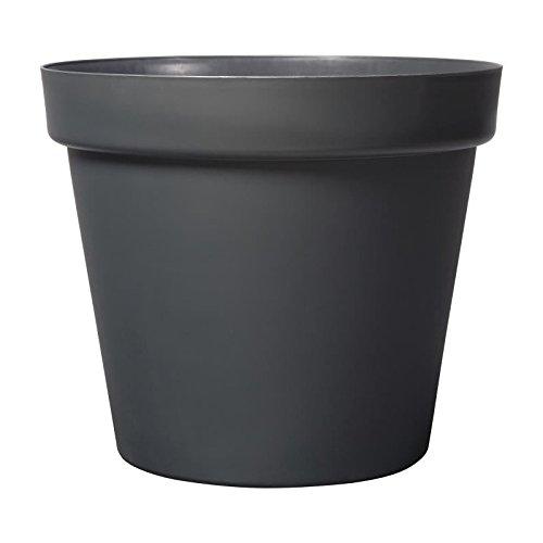 DEROMA Pot Grandé - 58x58x51,5cm - 90l - Anthracite
